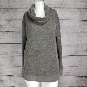 Lou & Grey Cowl neck  Sweater Pullover Sweatshirt